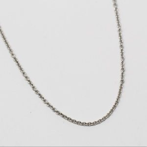 JAMES AVERY Sterling Medium Cable Chain Necklace